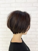 ビス ヘア アンド ビューティー 西新井店(Vis Hair&Beauty)20代30代襟足スッキリ前下がり小顔ショートボブ