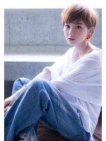 ケイト(kate)【kate 大宮】マニッシュショート×ミルクティーベージュ