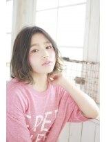 美髪デジタルパーマ/バレイヤージュノーブル/クラシカルロブ/326
