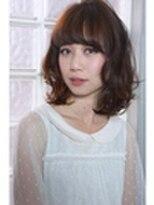 アレーン ヘアデザイン(Alaine hair design)透け感たっぷりのシンプルロブ