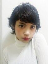 ブロック(bloc)暗髪☆クールな女性らしさにアンニュイな雰囲気をプラス