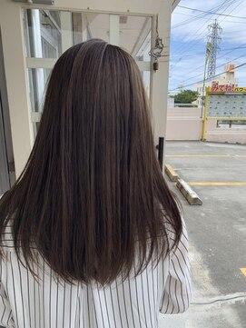 ヘアアンドメイクグラチア(HAIR and MAKE GRATIAE)【7トーン】グレージュカラー
