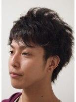 デコヘアー(DECO HAIR)イケメン的ツイストピンパーマ