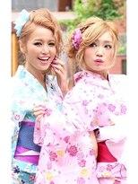 ☆CAPSULE☆浴衣&ヘアアレンジ!!フェアリーベージュ