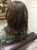 ファシオ ヘア デザイン(faccio hair design)イルミナカラーのベージュ