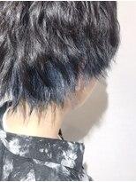 《Blue大黒★》#メンズインナーカラー#ネイビーブルー