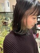 マイ ヘア デザイン(MY hair design)ハイコントラストインナーカラー