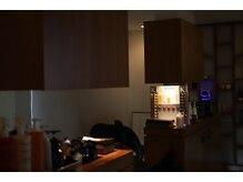 オリーブ(OLIVE)の雰囲気(落ち着いたシャンプー台でヘッドスパで疲れを癒しませんか?)