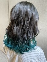 裾カラー GLAY×green kiyo