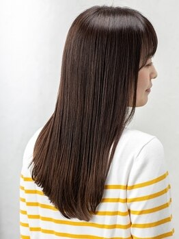 ルース ヘアアンドメイク(Luz hair&make)の写真/一人ひとり違う髪の悩みに合わせた、通常とは違うワンランク上の髪質改善で思わず触りたくなる美髪へ―。