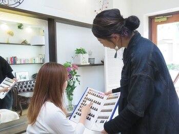 ヒヨリ 女性専用サロン(HIYORI)の写真/【女性専用サロン★】上手く表現できない想いも、女性同士だからこそ伝わる&話やすい♪