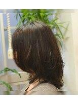 ポタム 東中野(potamu)硬くて多い毛を柔らかく表現するパーマ