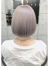 ヘアーアンドメイク ルシア 梅田茶屋町店(hair and make lucia)シルキーベージュ