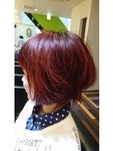 ヘアーメイク プラスネイル ジャム イップク(Hair Make +Nail JAM IPPUKU)ボブオーガニックカラー