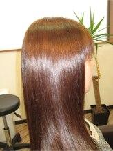 ジェンティーレ ヘアデザイン(Gentile Hair Design)【高濃度ミネラル使用】カット+KIRARAトリートメント縮毛矯正