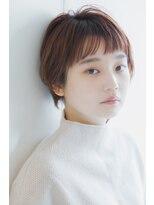 リル ヘアーデザイン(Rire hair design)【Rire-リル銀座-】小顔☆斜めバングショートボブ☆