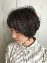 レイフィールド 御器所店髪が軽く見えるショートマッシュスタイル
