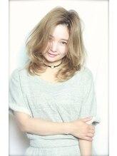 アンヘアー アリーズ(UN hair Ally's)【UNhair永井】モノトーンバレイヤージュ+フェザースタイル♪