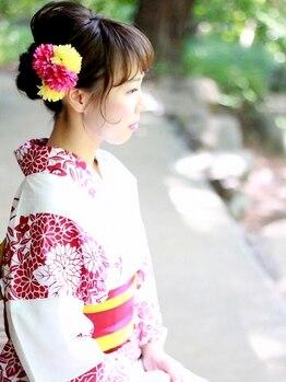 ミライ(mirai)の写真/可愛いアレンジスタイルはプロにお任せ★経験豊富なスタイリストが素敵な思い出作りをお手伝い◎