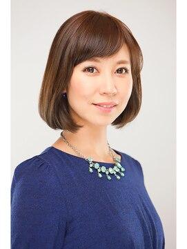 ヘア クチュール ミヨ(HAIR COUTURE MIYO)シースルーバング×ナチュラルボブ☆ 品川駅・HAIR COUTURE MIYO