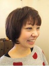 ヘアメイク カシータ(hair make Casita)『クセを生かした』ショートボブ