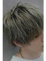 【LIPPS銀座】ブリーチカラー #金髪
