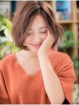 *+COVER HAIR+*…抜け感あるノーバングボブc