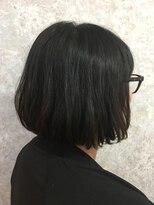 【SUGAR-B】くせ毛をいかしたシンプルボブ