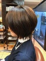 レフ ヘア デザイン(Reff.hair design)フェミニンショートボブ