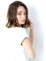 ラフィス ヘアー レイヴ 姫路店(La fith hair reve)【La fith】 カーキグレージュ×切りっぱなしボブ