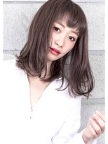 ヘアサロン ガリカ 表参道(hair salon Gallica)『 グレージュ 』×『 クセ毛風 』外国人風 オン眉 ワンカール☆