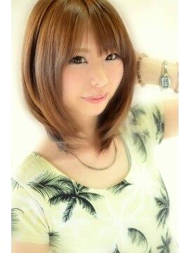 テイル ヘアーサロン(TALES Hair Salon)【TALES】夏に可愛い♪レイヤーボブ