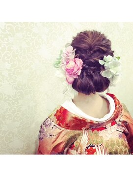 結婚式 和装 髪型 パズードコー PSSD-CO.+5spring和装ヘア
