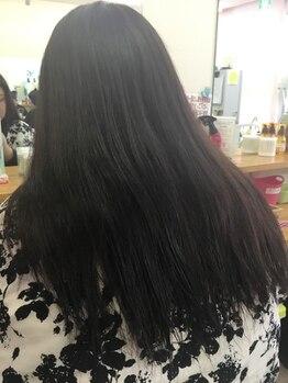 ヘアカラーソメセン(hair collar SOMESEN)の写真/お手頃プライスなのに綺麗に染まる!!気になる白髪もしっかり染まり、月1ペースで染められる嬉しい価格♪