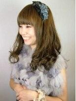 ヘアードレッサーズ ティース(Hair dressers T's)スモーキーブラウン×コテパーマで秋冬スタイル!