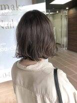 ヘアメイク シュシュ(Hair make chou chou)肩上切りっぱなしボブ【chou-chou 北林夏実】