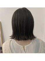 セカンド(2nd)ボブ/ワンレン/髪質改善/切りっぱなしボブ