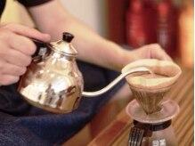 スウィーティーヘアー(swee tee × hair)の雰囲気(5種類の本格自家焙煎コーヒーでゆったり寛ぎの時間♪)
