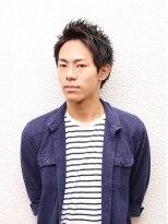 ビューティーボーイ ヤマグチ(BEAUTY BOY Yamaguchi)ツヤのある束感で魅せる男らしいアップバンク