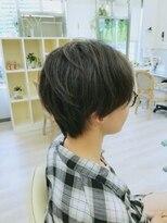 ハーフバックス 多摩境店(HAIR STUDIO HALF BACKS×1/2)レディースショート
