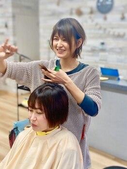 ラッコのおひるねの写真/親子で営むアットホームサロン◎女性ならではの観点から「理想」と「似合う」の良いとこ取りヘアをご提案♪