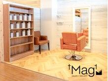 マグサロンギャラリー(Mag salon gallery)の雰囲気(コロナの不安も少なく。半個室のセット面、周りとの間隔も◎)