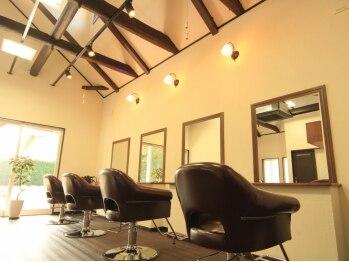 ヘアーサロン ハイブリッジ(hair salon high bridge)の写真/忙しい朝も、再現性の高いスタイルならセットも楽らく♪通いやすい料金設定も◎