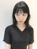 コクーン(Cocoon)【SHUN】シースルー切りっぱなし外ハネロブ #濡れ髪