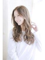 リゾートサロンM 新宿東口(Resortsalon M by valore)Resortsalon M【新宿東口店】透け感ベージュのミックスカール
