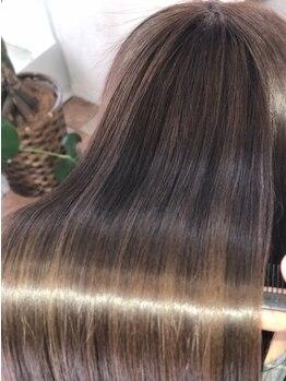 ムー(moo.)の写真/【すべてのメニューが髪質改善ヘアエステ】 パーマやカラーを繰り返すほど髪がキレイに扱いやすくなる☆