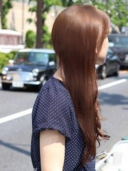 ハレヘアー(HARE hair)の写真/【五十市駅2分】ダメージレスで柔らかな手触り&艶やかで潤いのある髪へ―。大人気oggiotto/LaCASTA取扱い◇