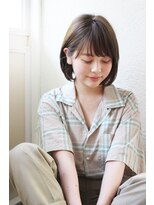 【Un ami】《増永剛大》10代~30代まで人気、カジュアルボブ☆
