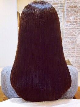 アトリエ リブコ(atelier L.I.B.Co)の写真/《針金みたいな縮毛は嫌だ!》そんな貴方に最適!癖をしっかり伸ばしながら柔らかい質感で自然な仕上がり☆