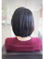 クール ヘアー ギャラリー 神明町店(COOL Hair gallery)ツヤツヤ☆シンプルボブショート
